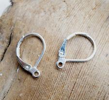 12 x Ohrbügel 925-er Silber vergoldet Ohrhaken Fischhaken Ohrringe 1051-12E