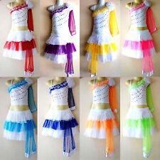 Kinder Mädchen/Damen Cheerleader-Kostüm/Fasching/Cosplay Kleid Gr. 98-170