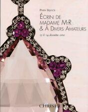 CHRISTIE'S JEWELS Belperron Boivin JAR Ecrin Madame M-R