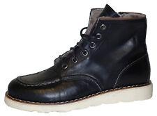 Momino 3430M Stiefel Boots Leder Lammfell Winter Schuhe Herren Jungen 33-40 Neu