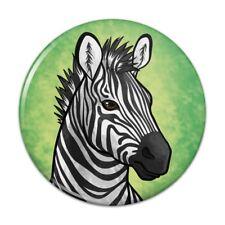 Zebra Face Kitchen Refrigerator Locker Button Magnet