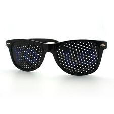 YOLO Lens Sunglasses Classic Horn Rim Frame BLACK (Color Yolo Lens Writings)