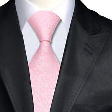 Pink Silk Italian Designer Tie Tie's For Weddings Proms Formal Occasions Work