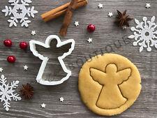 Angel Cookie Cutter 01 | Christmas | Fondant Cake Decorating | UK Seller
