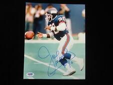 Joe Morris Autographed 8x10 PSA/DNA Authenticated
