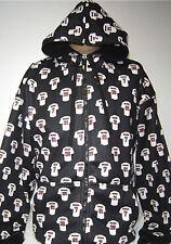 New! Black NFL Atlanta Falcons High Quality Hoodie Full Zip Hooded Jacket