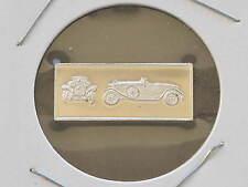 1928 Hispano-Suiza 2.5g Proof Sterling Silver Bar Ingot Franklin Mint D0846