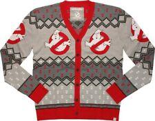 Ghostbusters New Logo Cardigan Costume Sweater