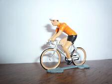 TRES BEAU CYCLISTE DU TOUR DE FRANCE MAILLOT VAINQUEUR TOUR HOLLANDE / PLOMB
