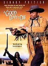 A Good Day to Die (DVD, 1999) RARE SIDNEY POITIER 1995 TV WESTERN