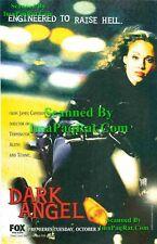 Dark Angel: Jessica Alba: Fox Premier: Photo Print Ad!