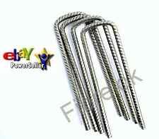 Steel Pegs Turf Reinforcement Grass Protection U Pins Metal Mesh Heavy Duty