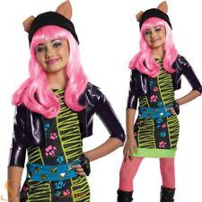 Girls Howleen Wolf Monster High Costume Halloween Fancy Dress Child Kids Outfit