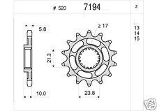 7194 Pignone in Acciaio Suzuki RM-X 450 Z RM-Z 450    DA 13 DENTI