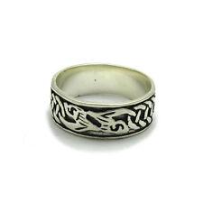 In argento Sterling, celtico anello fede R000479 Empress