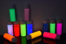 2oz Bottle UV Blacklight Reactive ACRYLIC Paint