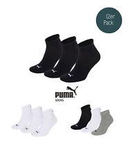 Puma Socken Quarter Sneakers Unisex 12er Pack Größen 35-46 - Farbenauswahl