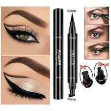 Double Head Black Waterproof Eyeliner Liquid Eye Liner Pen Makeup Cosmetic