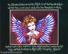 """SWEET DECADENCE""  HEALING ART  Drunken Angel Artist MARJORIE ROSE 22"" X 28"""