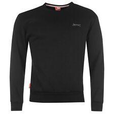Slazenger Para Hombre Sl Manga Larga De Cuello Redondo Algodón mezcla de lana Jumper Sweater