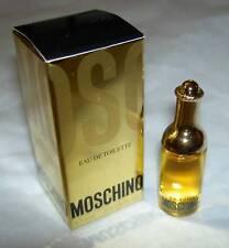 Moschino MINIATURE Bottle Eau de Toilette EDT 4 ml 0.13 fl New in Box