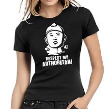 Respect my Authoritah | Kim Jong-Un | Cartman | Satire | XS-XL Girlie Shirt