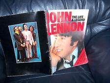 """The BEATLES ""  JOHN LENNON ""The Life & Legend"" SUNDAY TIMES TRIBUTE MAG 1980"