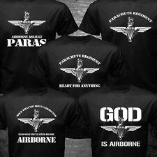 New United Kingdom Parachute Regiment Airborne Brigade Paras Pathfinder T-shirt