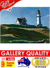 NEW Edward Hopper - Lighthouse Hill 1927 Light House Giclee Art Print or Canvas