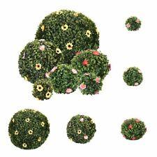 Artificial Resin Grass Ball Plastic Rice Hanging Flower Planter Wedding Ornament