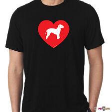 Love Bedlington Terrier Tee Shirt rothbury