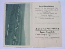 8431 AK Auto Vermietung Faulstich Finsterbergen 1930 PC