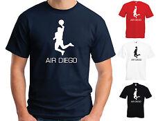 Aire Diego Algodón Camiseta-Maradona mano de Dios broma novedad de la Copa del Mundo Argentina