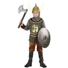 Kinder Ritterkostüm, Mittelalter Ritteranzug, Ritter Wikinger Kostüm, Krieger