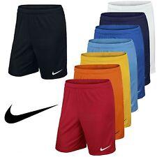 Nike Pantaloncini Da Uomo Calcio Training Palestra Sport Dri Fit Park Taglia S M L XL XXL