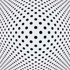 Tamaños de la plantilla Reutilizable ilusión puntos Moderno Decoración De Pared Decoración Crat Art Decó 1