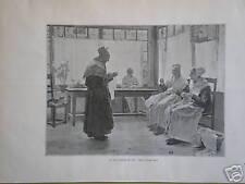 Dans La Soirée de vie après WALTER GAY 1893