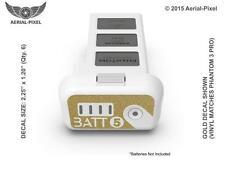 DJI Phantom 3 Battery # Label Decal Sticker Skin Professional Advanced Standard