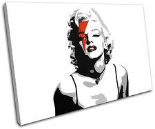 Marylin Monroe Pop Art  Iconic Celebrities SINGLE TOILE murale ART Photo Print