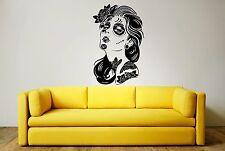 Giorno dei morti Donna Wall Art Sticker, Decalcomania, Murales, Immagine moderno ed elegante