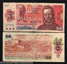 CZECHOSLOVAKIA CZECH SLOVAKIA 50 KORUS P96 1987 EAGLE 10 PCS