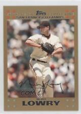 2007 Topps Gold #158 Noah Lowry San Francisco Giants Baseball Card