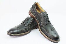 New Mens Black Ferro Aldo Shoes Brogue Original Perforation Details Oxford 19312