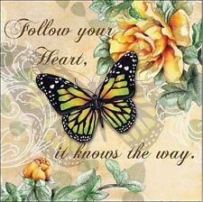 Donna knold : INSPIRE BUTTERFLY I barella-immagine Schermo Fiore Farfalla