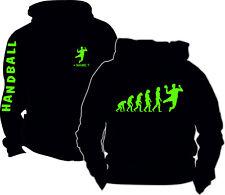 Handball Evolution Motive Kapuzensweatshirt Pullover Kapuzenjacke Bekleidung 15