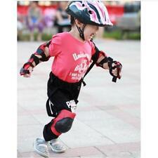 Children Elbow Knee Wrist Protective Pad Safety Helmet Skating Bike Gear Set -S