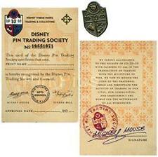 Disney 10/10/10 Membership Card Pin