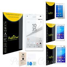Film protège écran verre trempé pour Sony Xperia modèle au choix + kit instal.