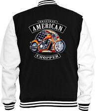 Biker Sweat College Jacke American Chopper USA  Bike Racing USA