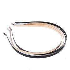 2Pcs 5mm Headband DIY metal blank hairband hair hoops crafts girls headw~GN